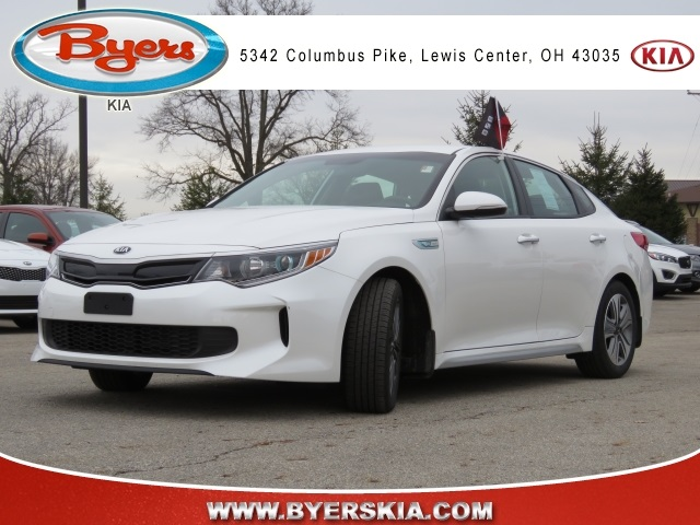 Certified Pre-Owned 2017 Kia Optima Hybrid EX