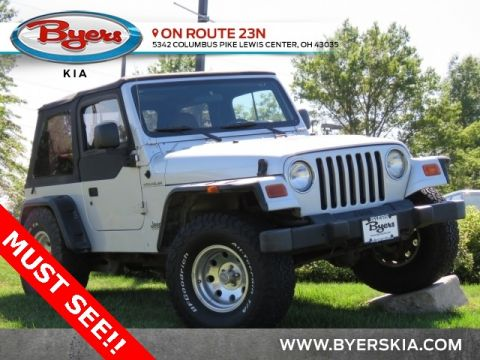 Pre-Owned 2002 Jeep Wrangler X